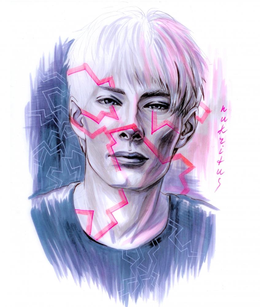 Thom Yorke par Fiona